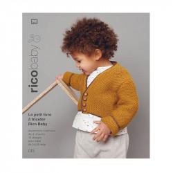 Rico Baby n°15 : le petit livre à tricoter Rico Baby