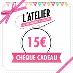 Carte Cadeau Magasin 15 €
