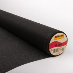 Entoilage thermocollant Vlieseline H200 - Noir