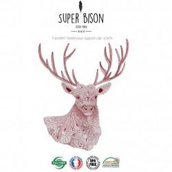 Transfert textile cerf - Super Bison