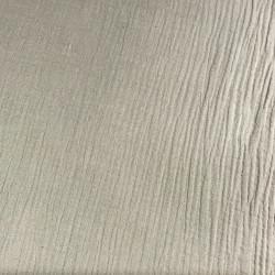 Tissu double gaze - beige