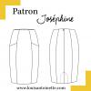 Jupe Joséphine - Louis Antoinette