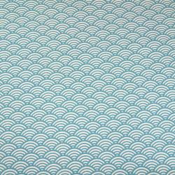 Tissu imprimé motif sushi canard