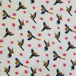 Viscose perroquet x 10 cm