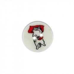 Bouton de nacre imprimé 15 mm chats