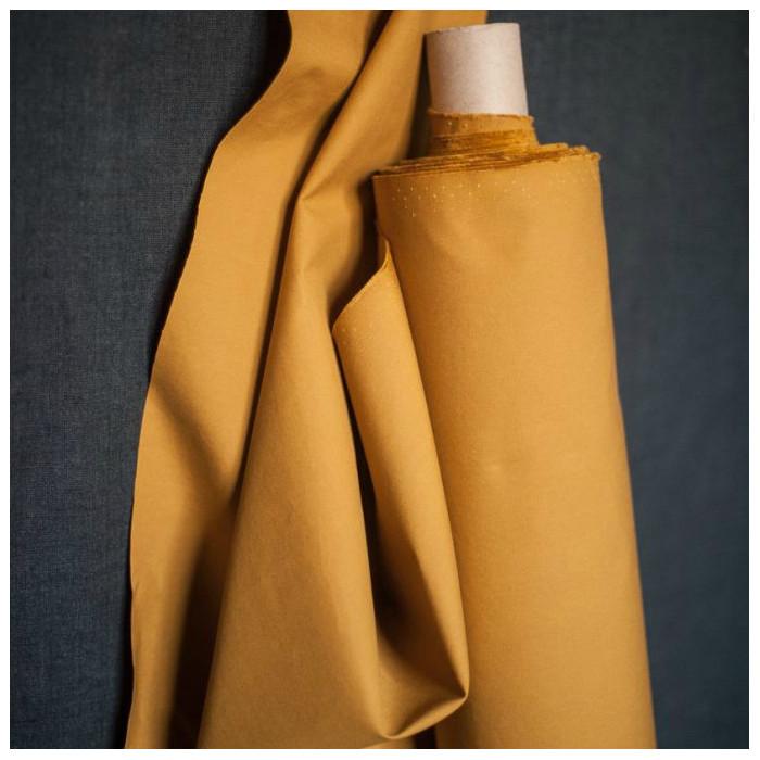 Tissu coton huilé Merchant and Mill - cumin x 10 cm