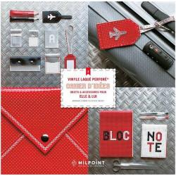 Cahier d'idées 2 : objets et accessoires pour Elle et Lui en vinyle laqué perforé