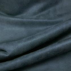 Tissu Suédine - Mésange x 10 cm