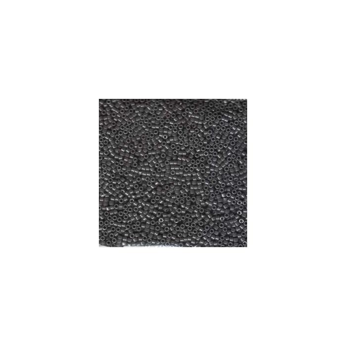 Miyuki Delicas 11/0 - Opaque Smoke Luster - DB0268 x6g