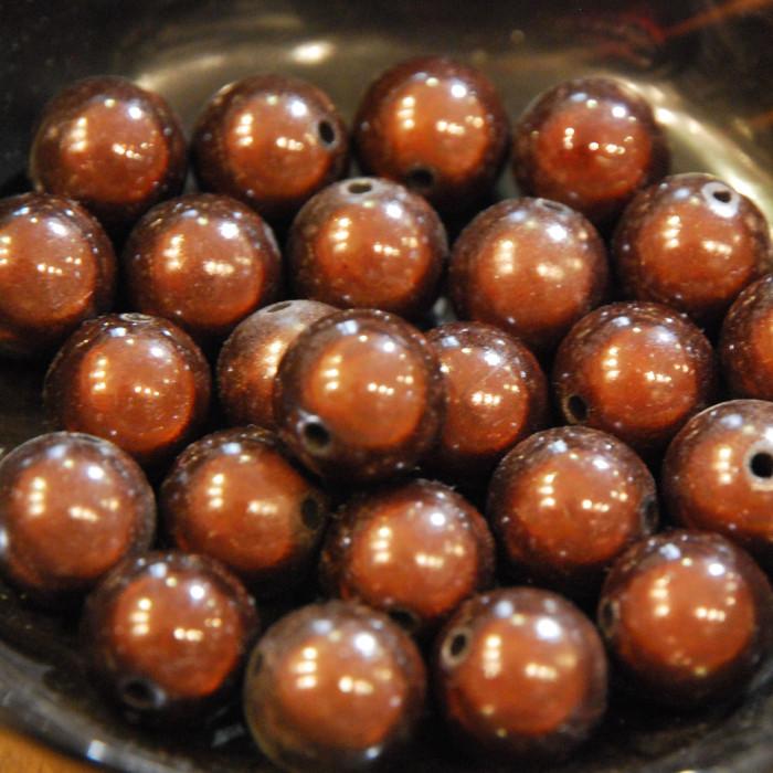 Perles magiques - chocolat - Atelier de la Création