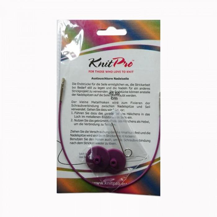 Câble pour aiguilles interchangeables Knit Pro