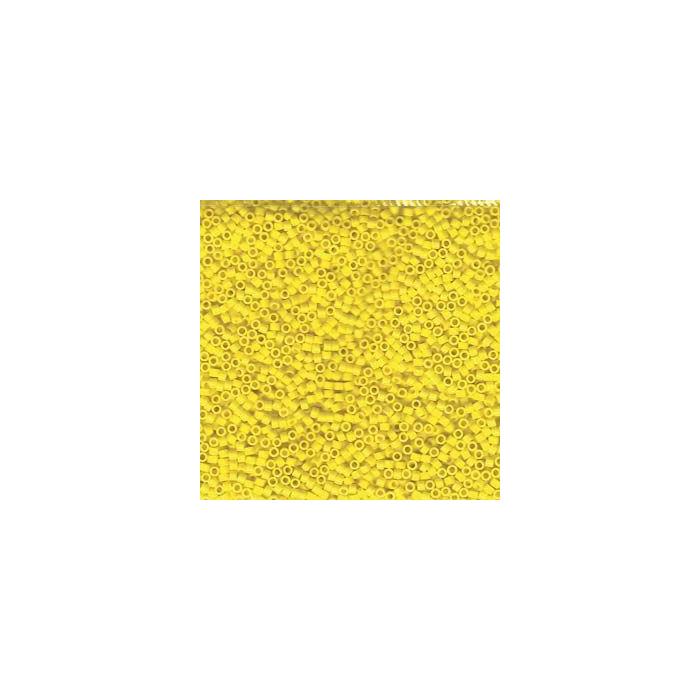 Miyuki Delicas 11/0 - Opaque Yellow - DB0721 x6g