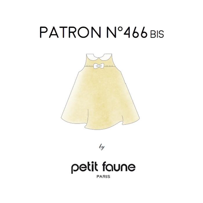 Patron n°466bis Robe Fluide