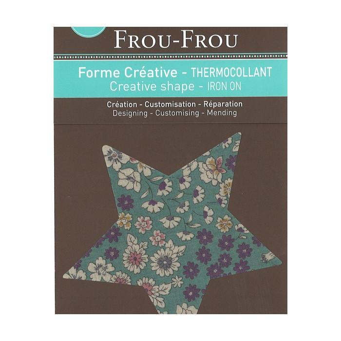 Thermocollant étoile Frou-Frou - vert