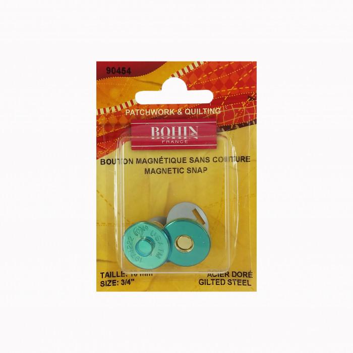 Bouton magnétique sans couture 18 mm Bohin