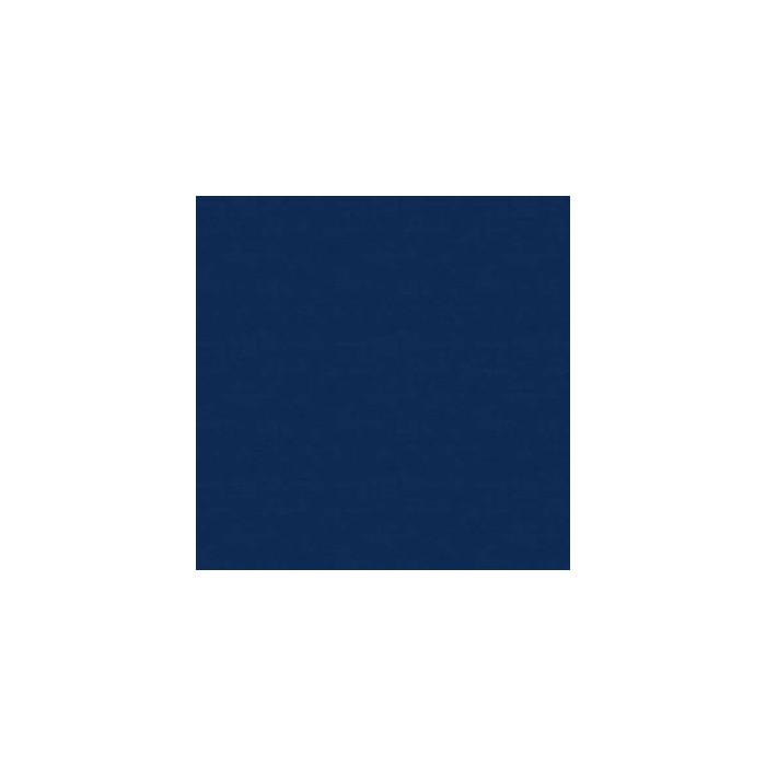 Tissu uni aspect lin marine x 10 cm