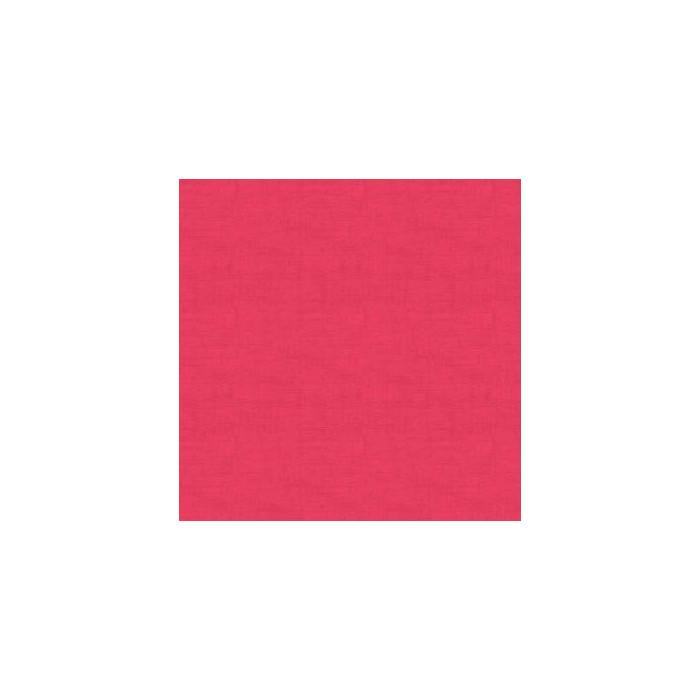 Tissu uni aspect lin fuchsia x 10 cm