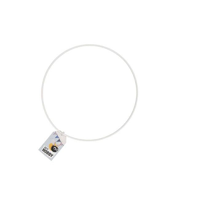 Cercle en métal Blanc - Rico Design