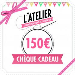 Carte Cadeau Magasin 150 €