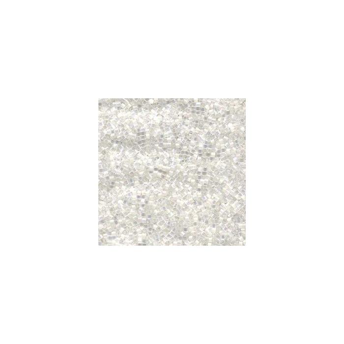 Miyuki Delicas 11/0 - crystal satin silk - DB670 x6g