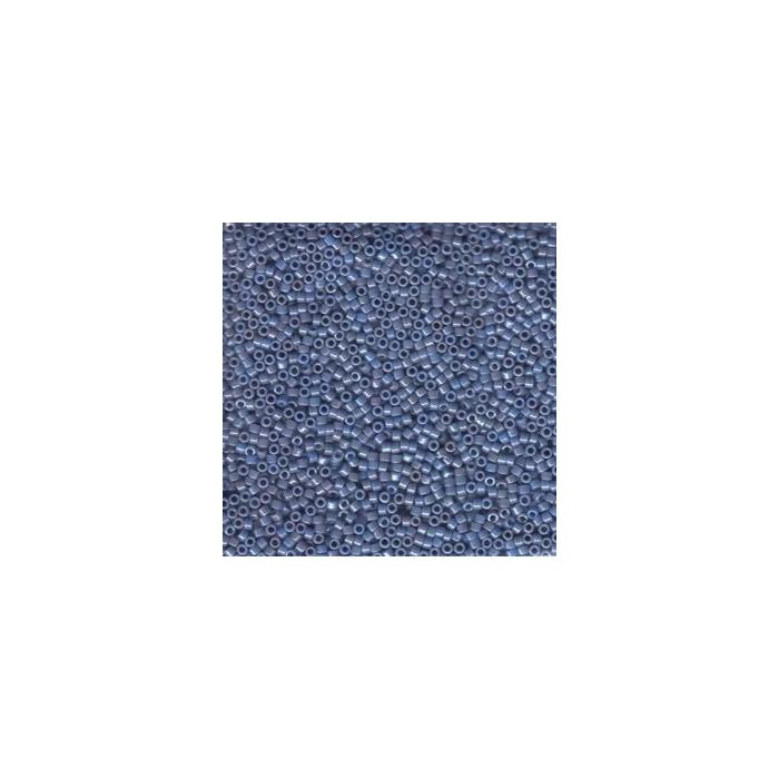 Miyuki Delicas 11/0 - Opaque Denim Blue Luster - DB266 x6g