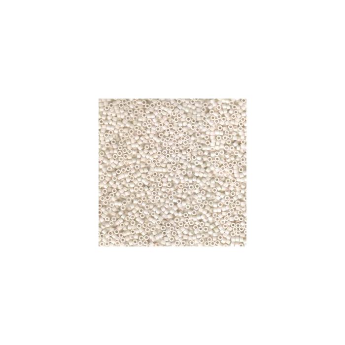 Miyuki Delicas 11/0 - opaque bisque white - DB1490 x6g
