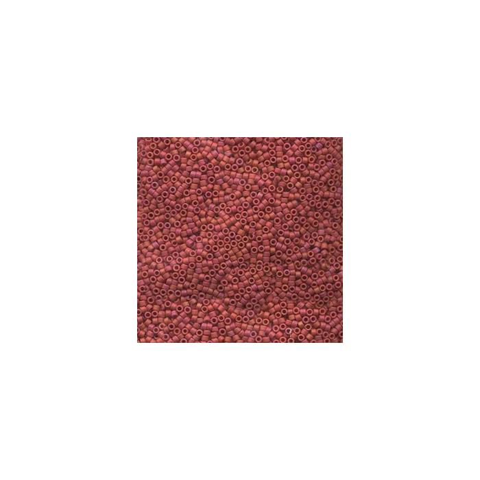 Miyuki Delicas 11/0 - mat Rouge - DB362 x6g