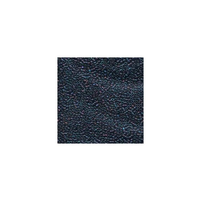 Miyuki Delicas 11/0 - metallic blue iris - DB025 x6g