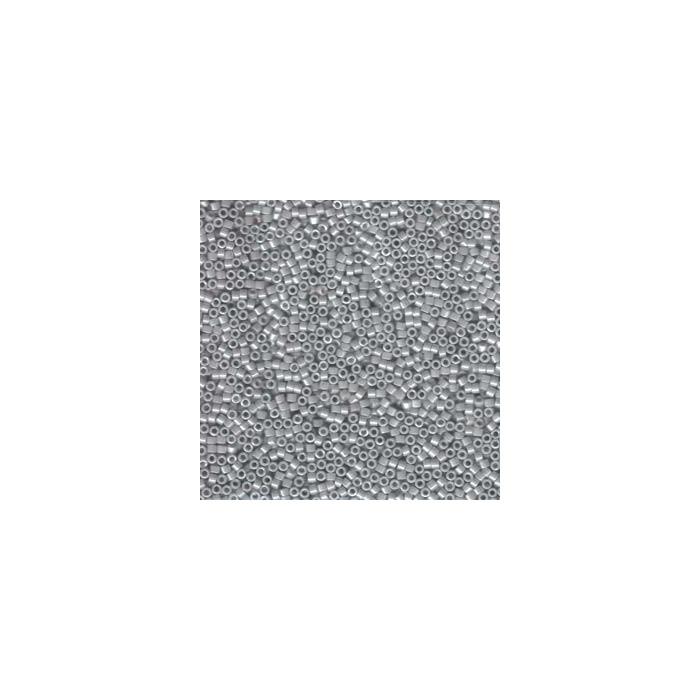 Miyuki Delicas 11/0 - Opaque light smoke ceylon - DB1538 x6g