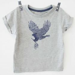 Transfert textile aigle - Super Bison