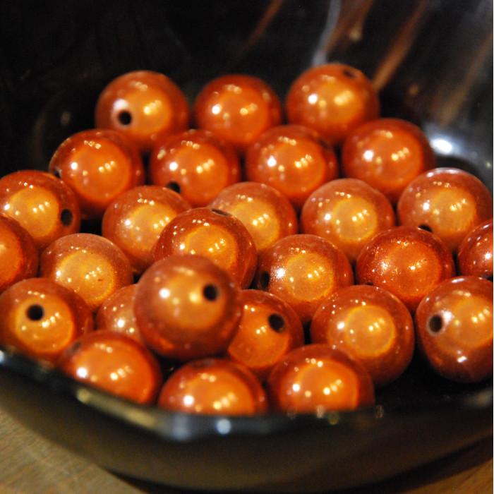 Perles magiques - cuivre - Atelier de la Création
