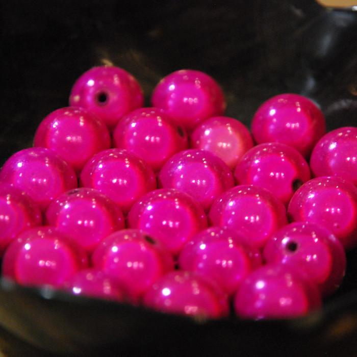 Perles magiques - fuchsia - Atelier de la Création