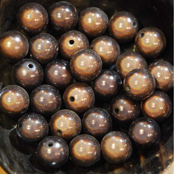 Perles magiques - marron gris - Atelier de la Création