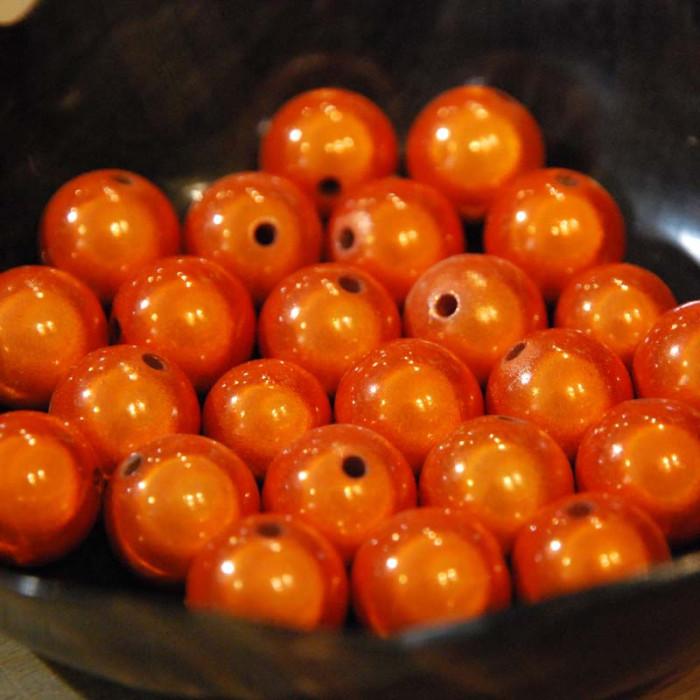 Perles magiques - orange - Atelier de la Création