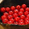 Perles magiques - rouge