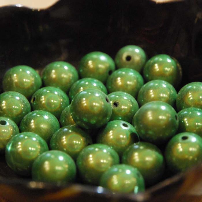 Perles magiques - vert sapin - Atelier de la Création