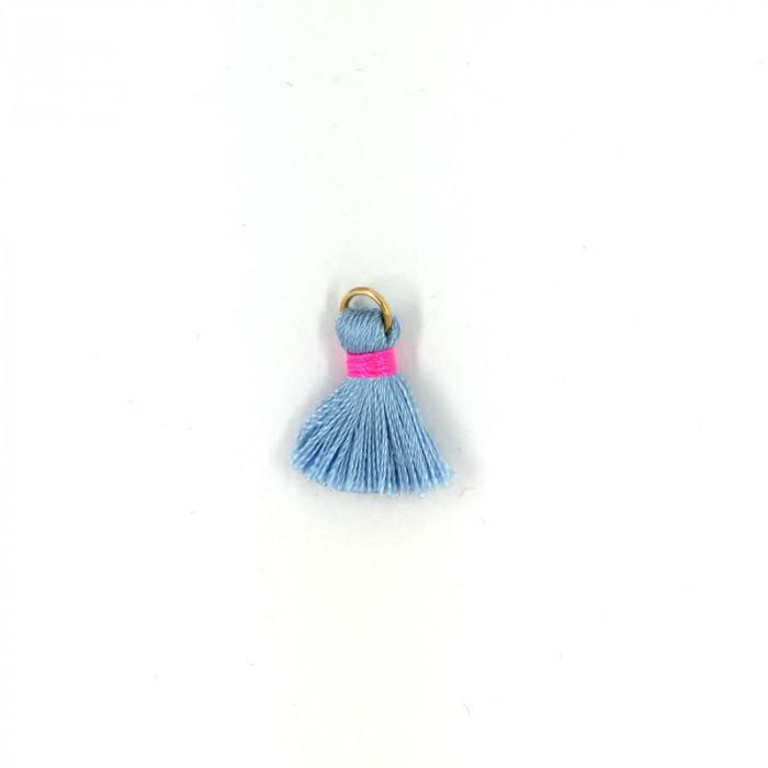 Mini pompon 21 mm  x1 - 24 couleurs