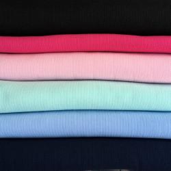 Tissu jersey tubulaire bord-côte