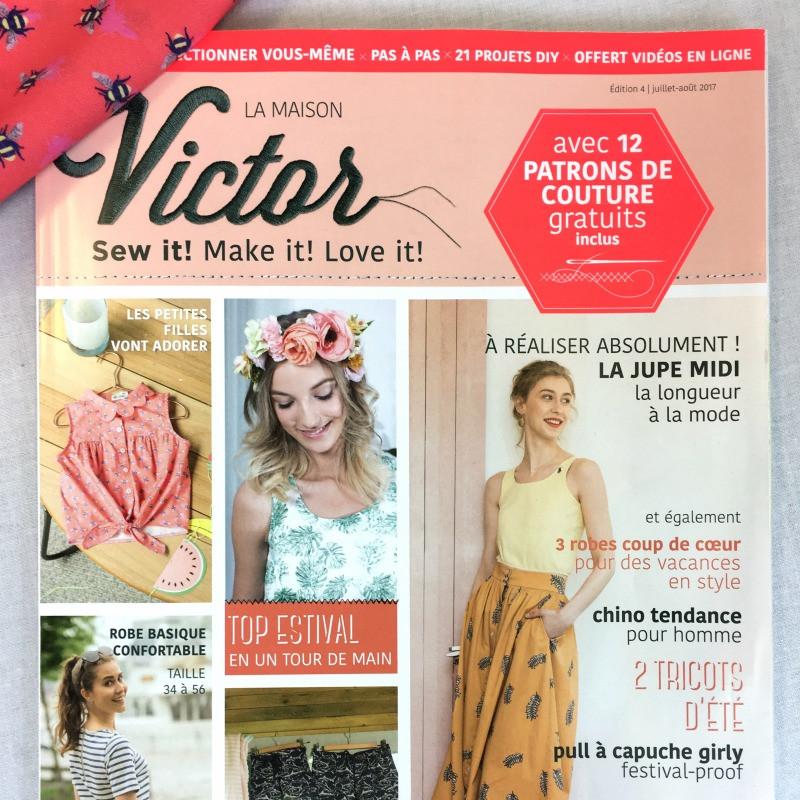 Magazine la maison victor novembre decembre 2017 segu maison for Magazine de maison