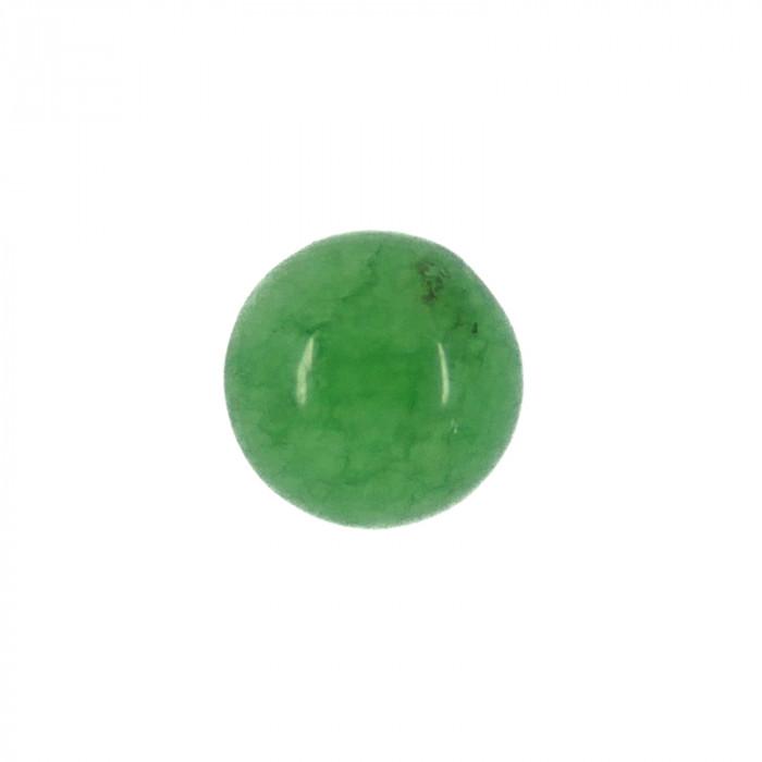 Cabochon jade 12 mm x1
