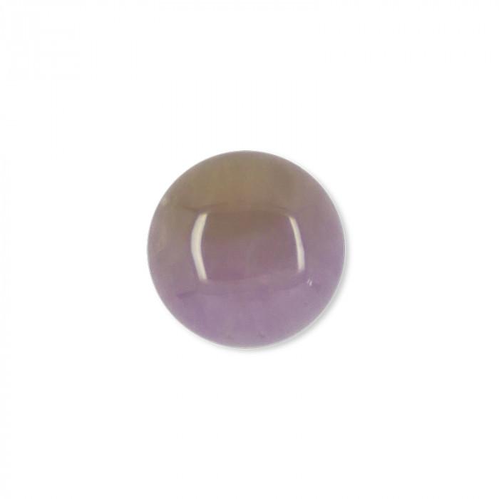 Cabochon améthyste 12 mm x1