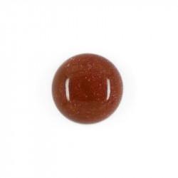 Cabochon Gold stone 10 mm