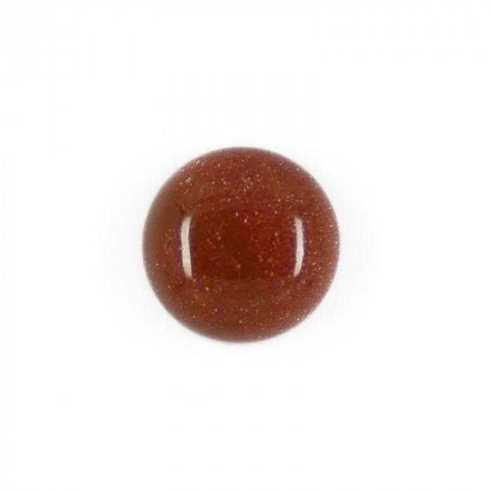 Cabochon Goldstone 10 mm x1