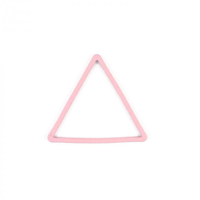 Intercalaire triangle métal teinté x1