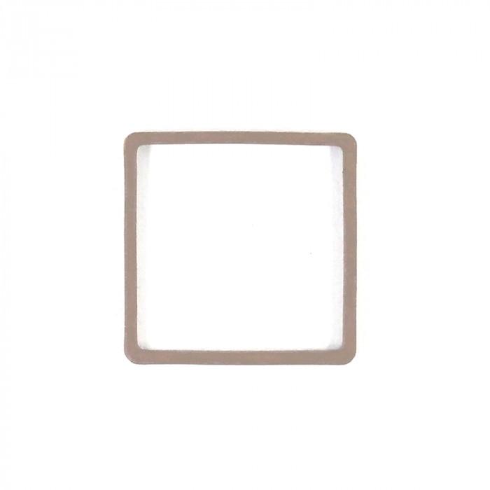 Intercalaire carré métal teinté x1