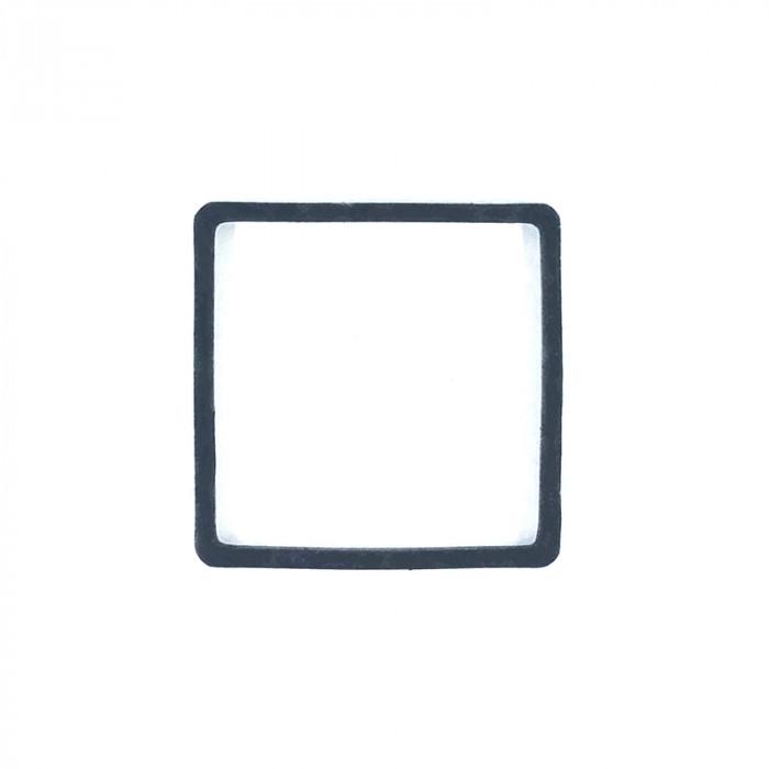 Intercalaire carré métal teinté