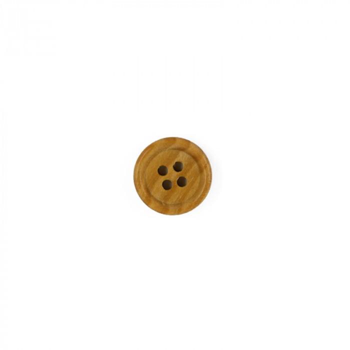 Bouton en bois 10 mm