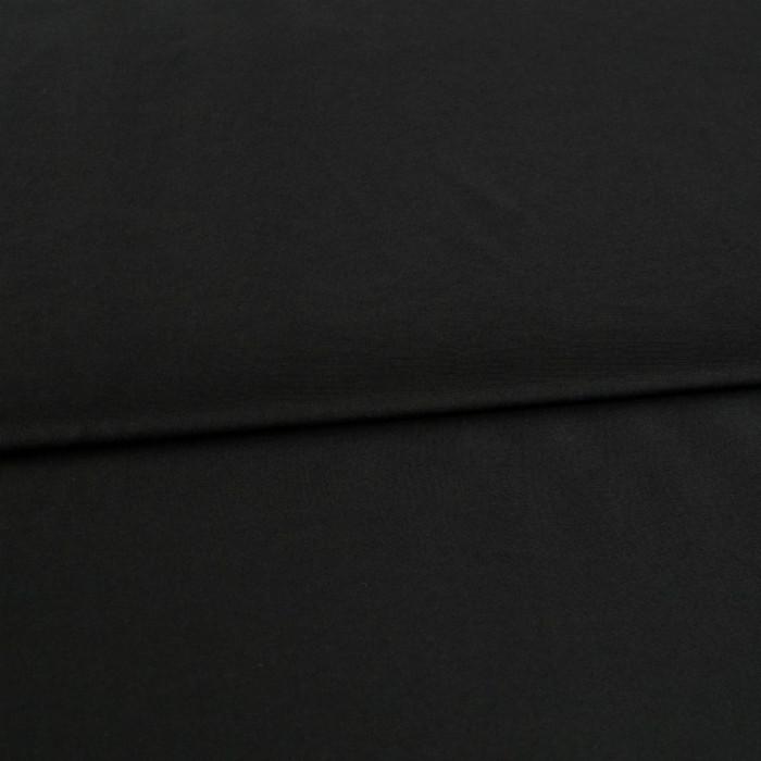 Tissu soie - noir x 10 cm