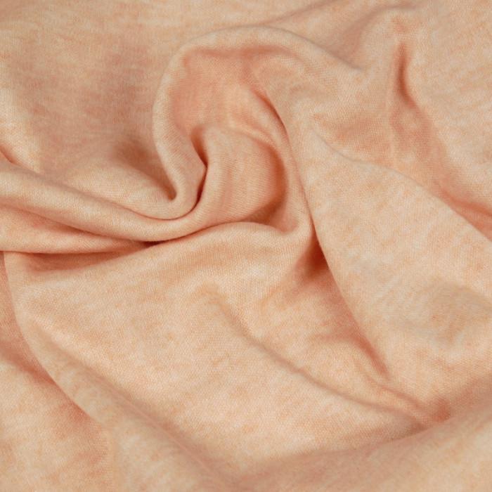 Tissu lainage saumon