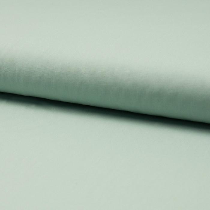Tissu coton popeline mint foncé